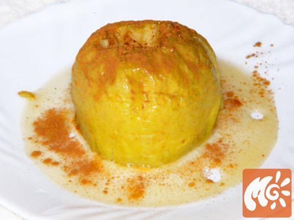 Запеченные яблоки в духовке с сахаром рецепт пошагово