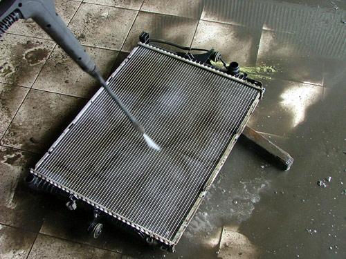 Промывка системы охлаждения своими руками